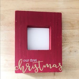 Frame - Our First Christmas